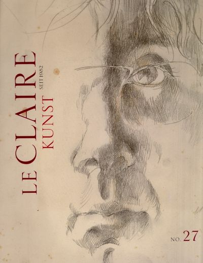 Hamburg: Le Claire Kunst, 2010. First Edition. Soft cover. Very Good. Illustrated softcover. Unpagin...