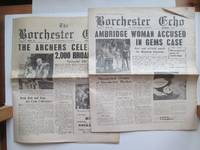 image of The Borchester Echo & Felpersham Gazette: September 1958 souvenir copy of  2,000 broadcasts of the Archers, with, December 1959, Christmas issue