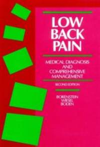 Low Back Pain: Medical Diagnosis and Comprehensive Management