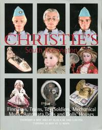 Fine Toys, Trains, Toy Soldiers, Mechanical Music, Automata, Dolls & Dolls' Houses