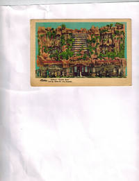 """Advertising Trade Card ) Aloha - Clifton's """"Pacific Seas"""" 618 Olive St., Los Angeles"""