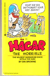 Hagar the Horrible # 1 (What Did You Do? Forget Ypour Key Again?)