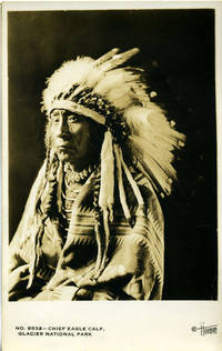 image of Chief Eagle Calf Real-Photo Postcard from Glacier National Park