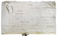 Manuscript indenture of Lawrence Sendey, knight of Southampton