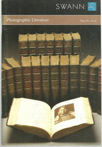 PHOTOGRAPHIC LITERATURE, SALE 2080 MAY 18, 2006