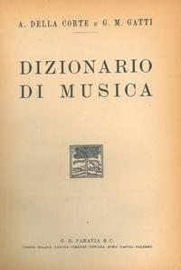 Dizionario di musica.