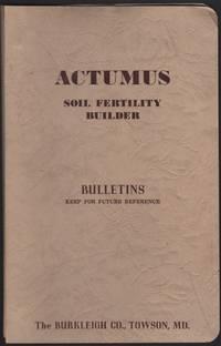 image of ACTUMUS Soil Fertility Builder Bulletins.
