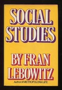Social Studies [*SIGNED*]
