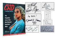 CAD: A HANDBOOK FOR HEELS RUSS MEYER DANIEL CLOWES SIGNED by  Daniel Clowes (Illustrator)  Russ Meyer (Photographer) - Signed First Edition - 1992 - from Astro Trader Books (SKU: 1000-103)