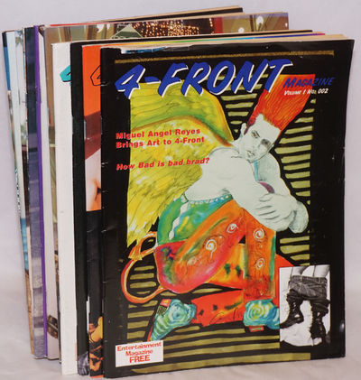 West Hollywood: Metro-90069 Inc, 1996. Magazine. Twelve issue broken run, various pagination, 8.5x11...