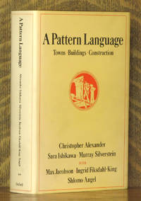 A PATTERN LANGUAGE, TOWNS, BUILDING, CONSTRUCTION