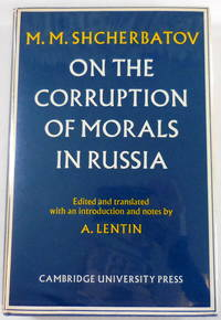 image of On the Corruption of Morals in Russia
