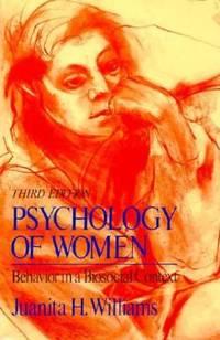 Psychology of Women: Behaviour in a Biosocial Context