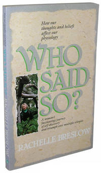 image of Who Said So?: A Woman's Journey of Self-discovery and Triumph over Multiple Sclerosis