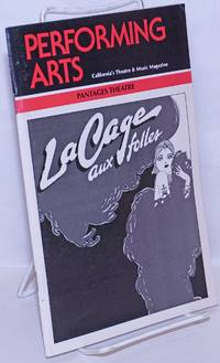 image of Performing Arts: California's theatre & music magazine; La Cage aux Folles September, 1984; Los Angeles Edition; Pantages Theatre