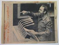1979 Wire Photo of Fidel Castro, President of Cuba
