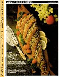 image of McCall's Cooking School Recipe Card: Fish, Seafood 21 - Baked Haddock  (Replacement McCall's Recipage or Recipe Card For 3-Ring Binders)