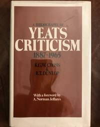Bibliography of Yeats Criticism, 1887-1965