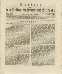Über die Magnetisirungskraft Leicht zu Brechender Lichtstrahlen. Bon Mad. Maria Somerville [caption title]. [In]