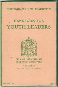 image of Handbook for Youth Leaders