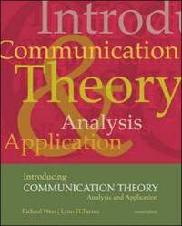 image of Introducing Communication Theory: Analysis and Application, with Free PowerWeb