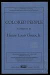 image of Colored People: A Memoir