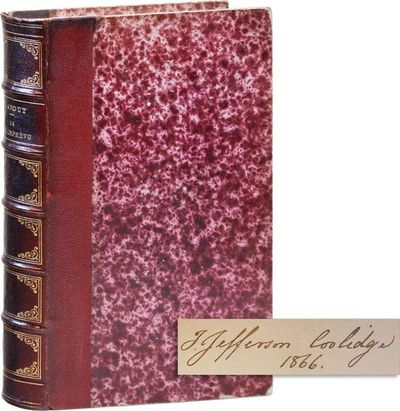 Paris: Hachette, 1865. First Edition. Octavo. Contemporary gilt-decorated morocco over marbled board...