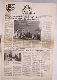 image of The News: vol. 1, #26, March 20, 1987