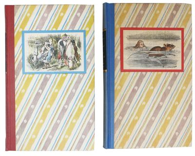 New York: Random House, 1946. 1st edition thus. Blue / red quarter cloth bindings, over patterned cl...