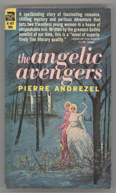 New York: Ace Books, 1963. Small octavo, pictorial wrappers. First paperback edition. Ace Book K167....