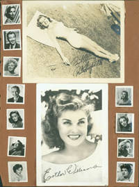 image of Promotional Black & White Glossy Photographs of Hollywood stars including Rita Hayworth, Esther Williams, Joan Crawford and others