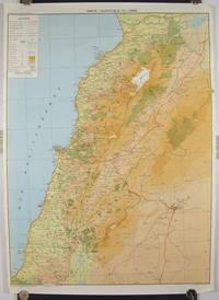 Carte Touristique du Liban