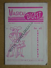 The Magical Digest. Vol. 3 No. 1. November 1951.