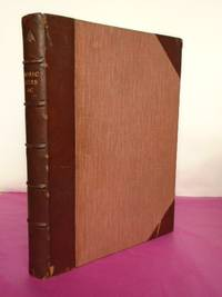 Bound Collection of 10 Philosophical Transactions of the Royal Society of London Inc. INONIC SIZE IN RELATION TO THE PHYSICAL PROPERTIES OF AQUEOUS SOLUTIONS;  IONIC  VELOCITIES;  THE IONIZATION OF DILUTE SOLUTIONS A THE FREEZING POINT;  Etc.