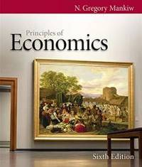 image of Principles of Economics (Mankiw's Principles of Economics)