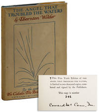 The Angel that Troubled the Waters and Other Plays [Limited Edition, Signed by the Publisher]