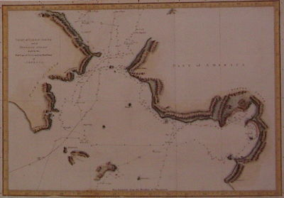 London: Hogg, Alexander, 1790. unbound. very good. Sea Chart. Engraving with modern hand coloring. I...