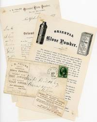 Circulars and Sample of Oriental Glove Powder - An easier way to put on your well fitting gloves