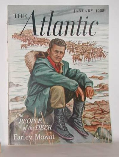 Boston: The Atlantic Monthly, 1952. First magazine appearance. Near fine in illustrated paper covere...