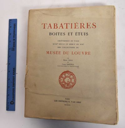Paris: G. van Oest, 1930. Softcover. Good- (heavy wear to wraps with taped repairs. Pages have age t...