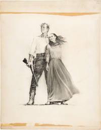The Unforgiven (Original poster artwork for the 1960 film)