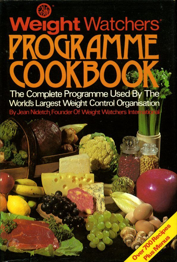 Weight Watchers Programme Cookbook By Jean Nidetch Hardcover