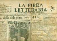 La Fiera Letteraria. 1927. Anno III. N. 5, 8, 9 (molto sbiadito), 11, 12, 13, 14, 15 (rovinato),...