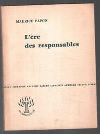 image of L' ère des responsables