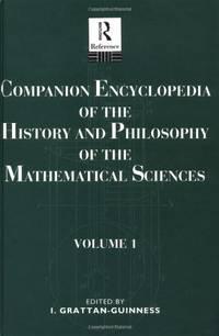 Comp Ency Hist Phil Math V 1: Vol 1