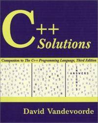 image of C++ Solutions: Companion to the C++ Programming Language (3rd Edition)