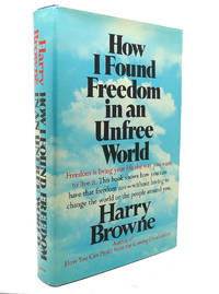 image of HOW I FOUND FREEDOM IN AN UNFREE WORLD