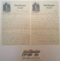 Autographed Letter Signed on hotel stationery
