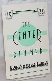 image of The Center Dinner program 1988