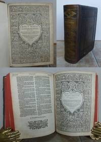 THE HOLY BIBLE, CONTAINING THE OLD TESTAMENT AND THE NEW.  Newly Translated out of the Originall Tongues: And with the former Translations diligently compared and revised, By his Maiesties speciall commandement.